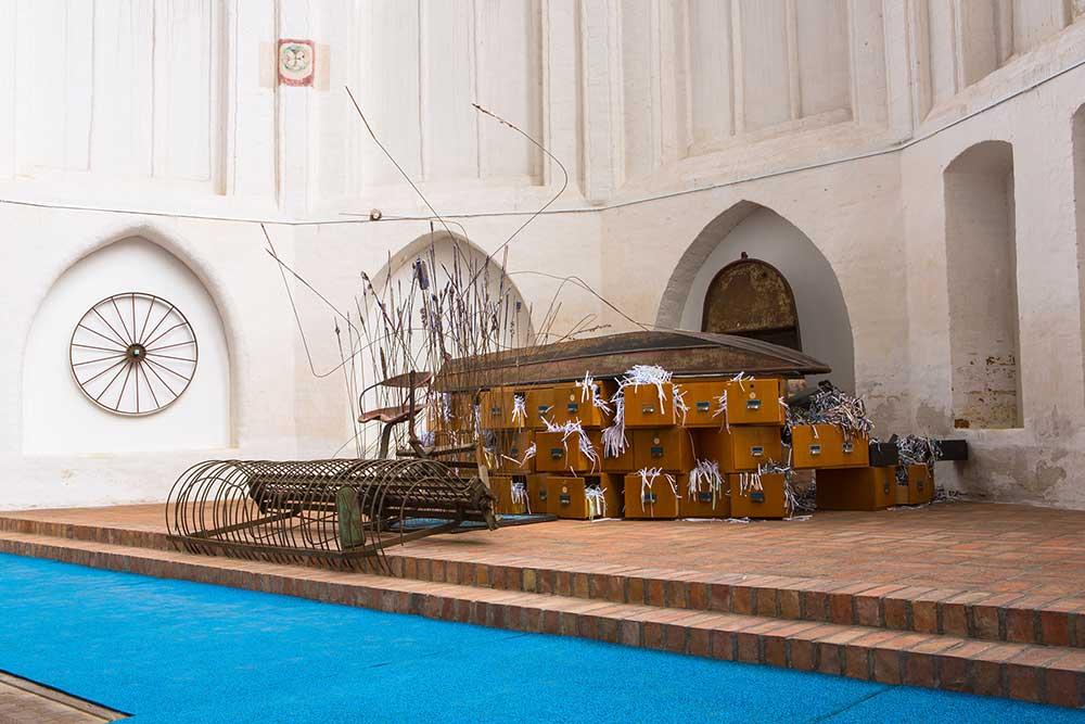 Mönchskirche Salzwedel, 2018, S.T.Y.X. Anlandung III
